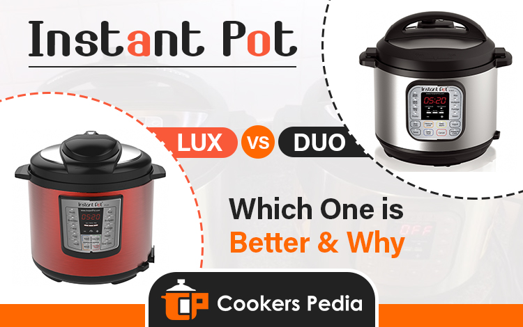 instant pot lux vs duo